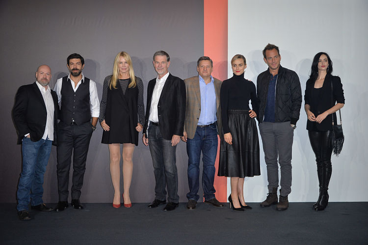 Netflix Italy Launch Press Conference