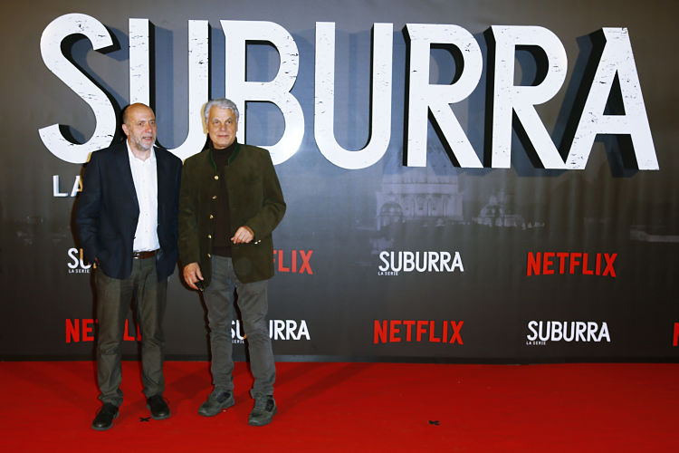 attends Netflix's Suburra The Series Premiere on October 4, 2017 in Rome, Italy.